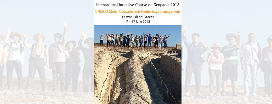 Intensive course on Geoparks 2018