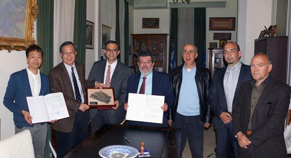 Συμφωνία συνεργασίας των Γεωπάρκων Λέσβου και Hong Kong