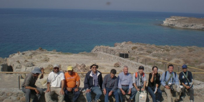 Αντιπροσωπεία από το  Γεωπάρκο San'in Kaigan από την Ιαπωνία επισκέφτηκε το Απολιθωμένο Δάσος  και το Γεωπάρκο Λέσβου