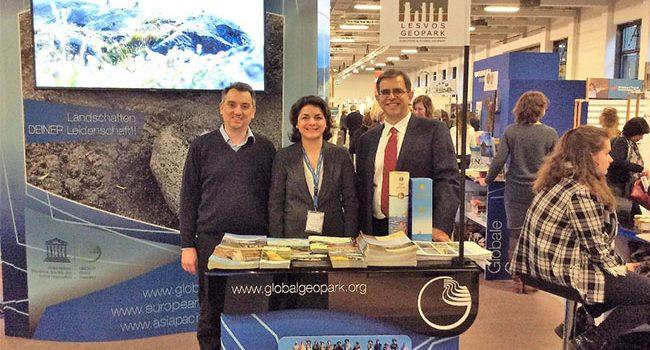 Προβολή της Λέσβου στη Διεθνή Τουριστική Έκθεση ITB στη Γερμανία</br></br>Στην πρωτοπορία η Λέσβος για την προώθησή της  ως βιώσιμου τουριστικού προορισμού μαζί με τα  Παγκόσμια Γεωπάρκα UNESCO