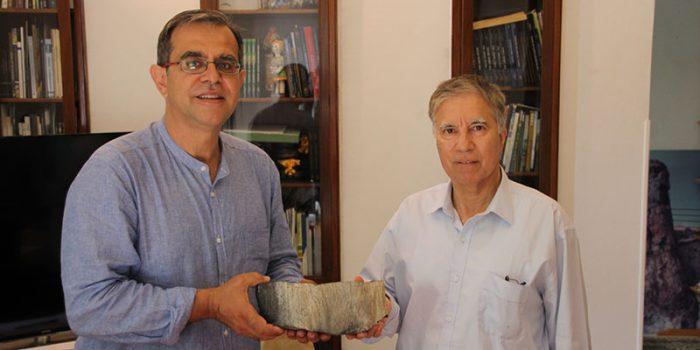 Δωρεά σπάνιου φυτικού απολιθώματος από την Ανταρκτική</br>στο Μουσείο Φυσικής Ιστορίας Απολιθωμένου Δάσους Λέσβου