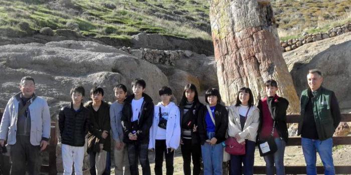 Η Λέσβος εκπαιδευτικός προορισμός  για μαθητές από την Ιαπωνία