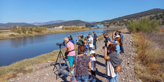 Ξεκίνησαν οι δράσεις του Κέντρου Περιβαλλοντικής Ενημέρωσης Καλλονής<br>Με επιτυχία οι εξορμήσεις παρατήρησης πουλιών στις Αλυκές Καλλονής