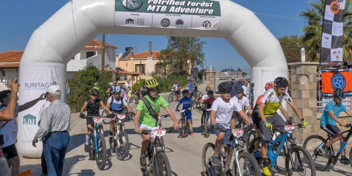 Με επιτυχία οι αγώνες ποδηλασίας στο Απολιθωμένο δάσος<br>ΠΟΔΗΛΑΤΙΚΟΣ ΑΓΩΝΑΣ 'PETRIFIED FOREST ADVENTURE MTB'
